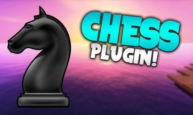 INVENTORY CHESS! | Minecraft Plugin Tutorial