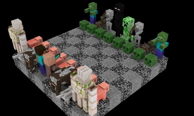 Minecraft: how to make a chess set and play it – (minecraft chess set playing)