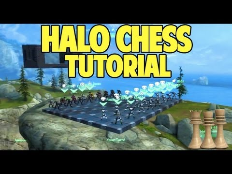 Halo Reach Epic Forge Tutorials: Chess Game
