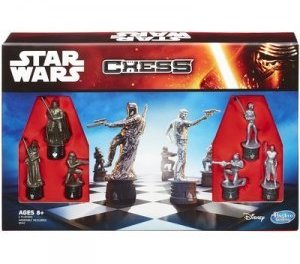 Star Wars Battle Chess Game, Pieces Includes Villains & Heroes From All 7 Star Wars Movies