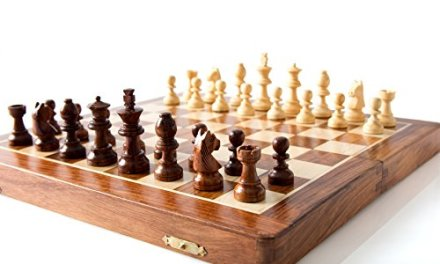 StarZebra Premium Magnetic 12″ Inch Chess Set Game with Fine Wood Classic Handmade Standard Staunton Themed Ultimate Chess Set with EXTRA QUEEN – comes with storage for Pieces in the Wooden Board