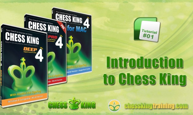 Chess King 4 Tutorial 01 – Intro to Chess King 4 for PC/Mac