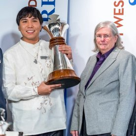Wesley So is the winner of the Sinquefield Cup 2016.