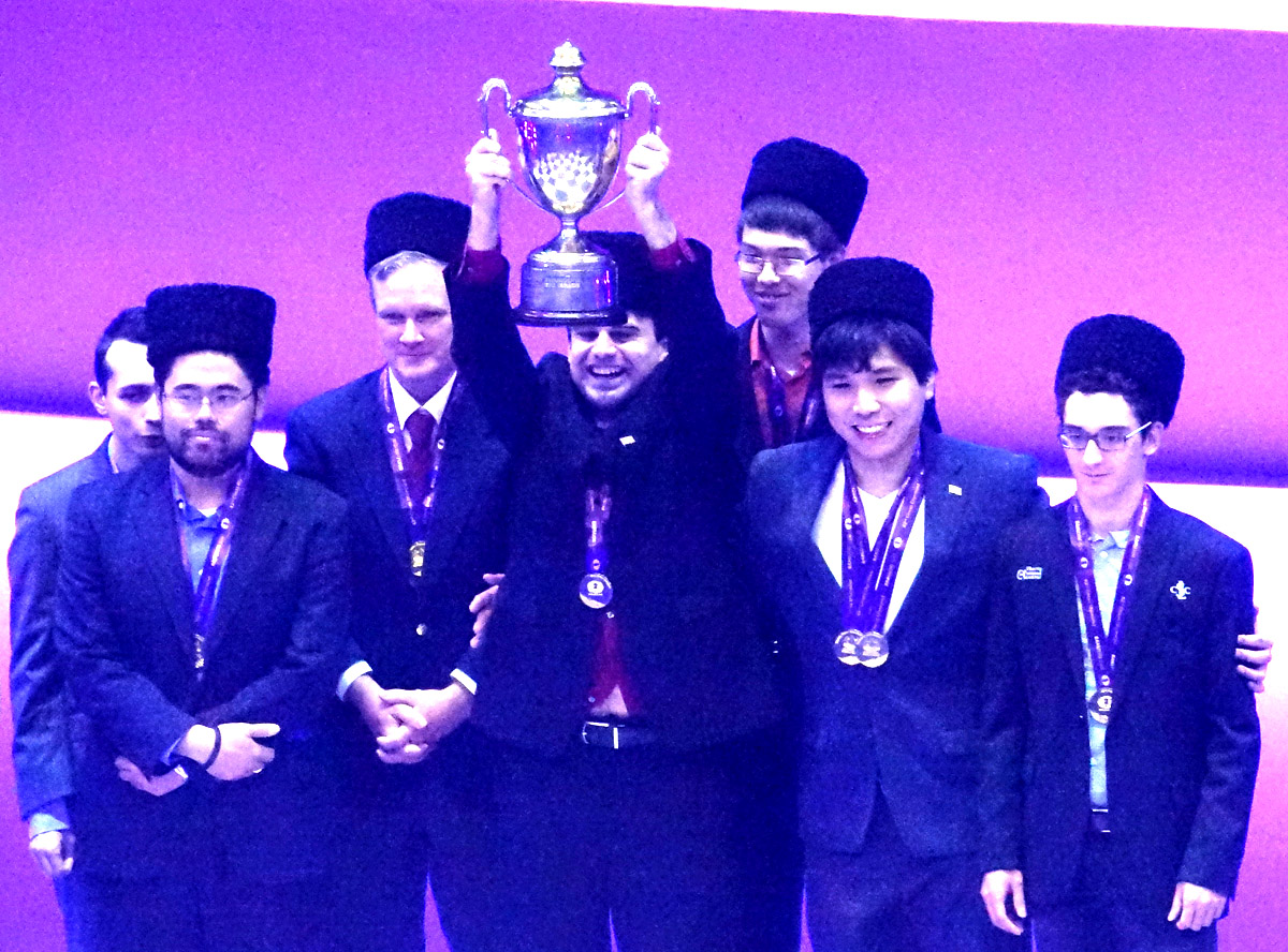 Baku 2016 42nd Chess Olympiad Winners