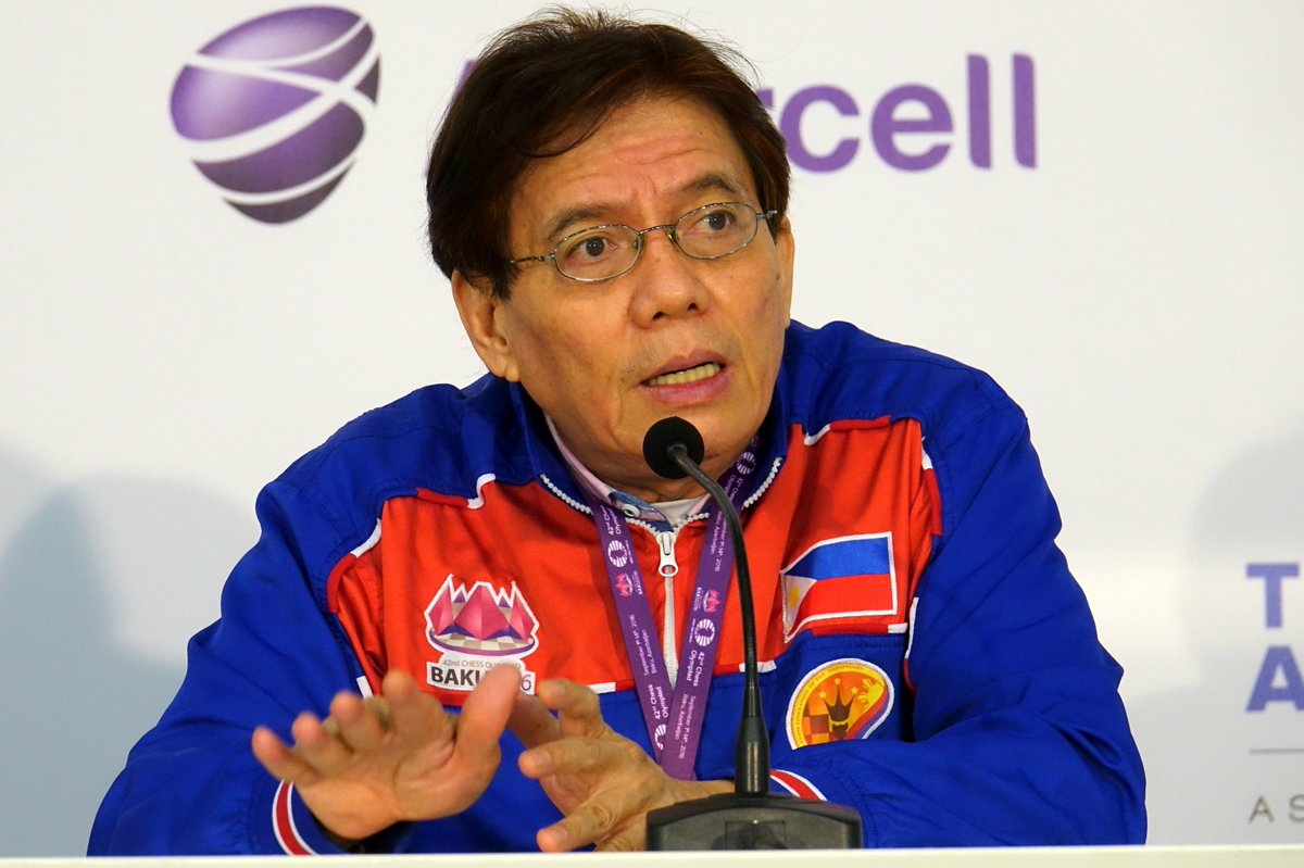 Eugene Torre leads players ranking after Round 9