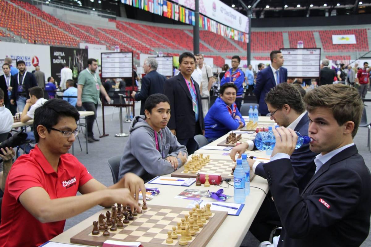 Philippines Round 10 Baku 2016 Chess Olympiad