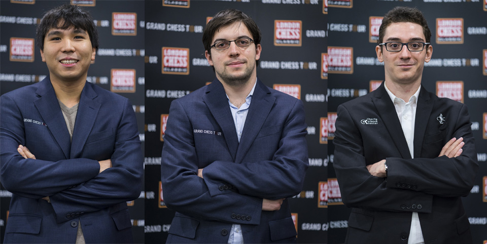 So, Caruana, MVL win in Round 6 – London Chess Classic 2016