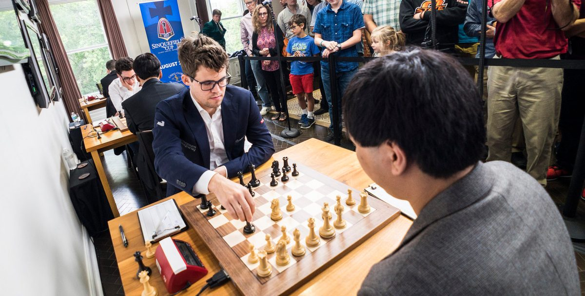 Carlsen defeats Wesley So in Round 5 Sinquefield Cup 2017