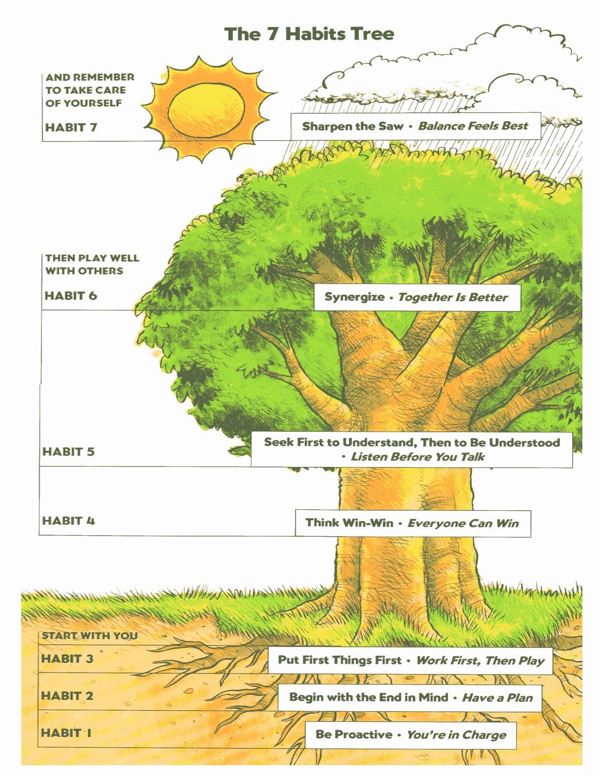 7 Habits Worksheet Inspirational Links I Ets