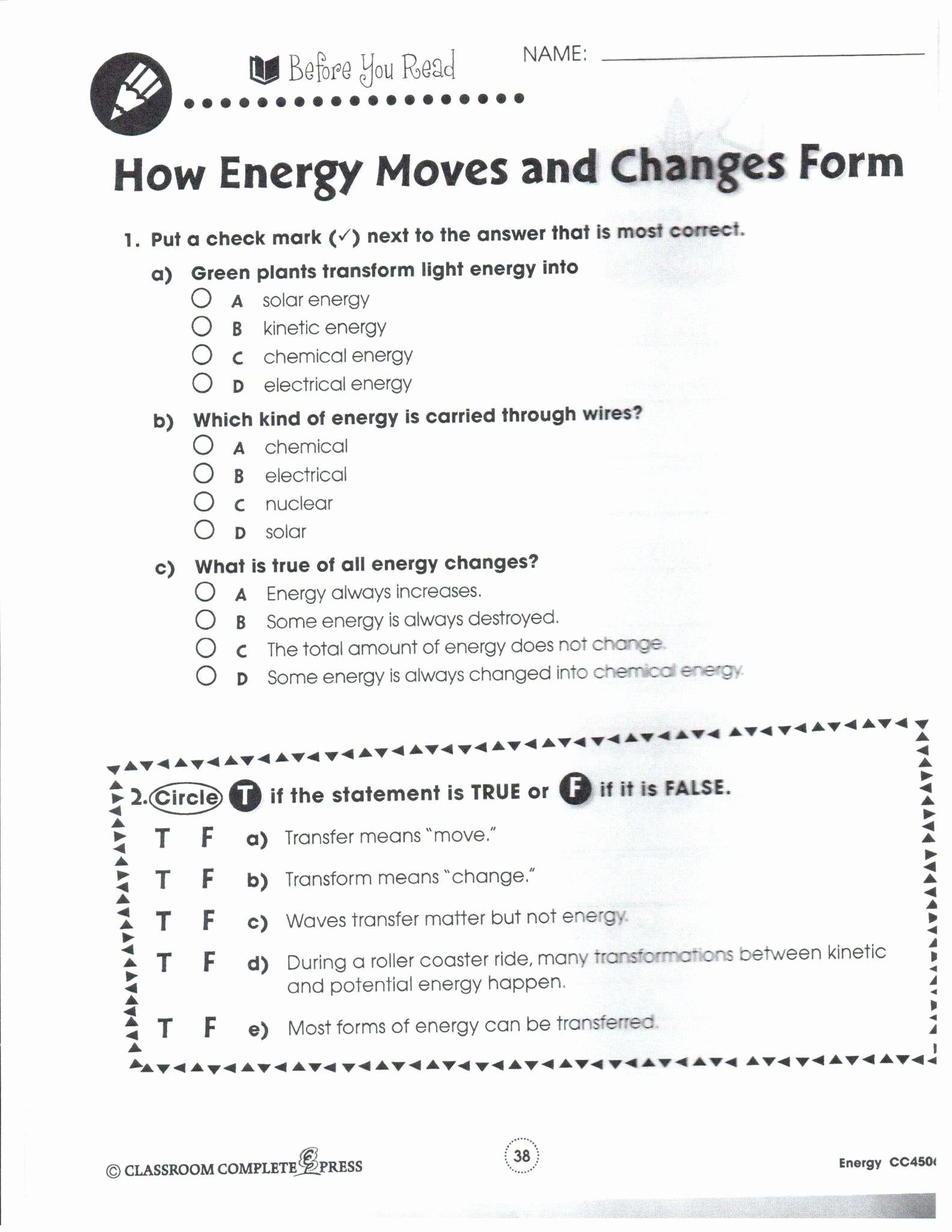 50 Classifying Matter Worksheet Answer Key