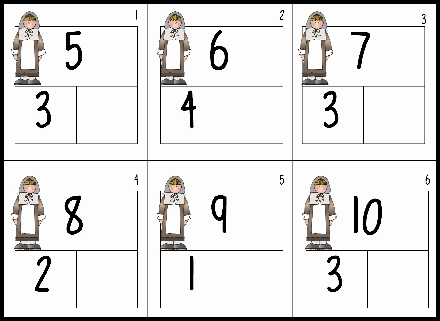 50 Composing And Decomposing Numbers Worksheet