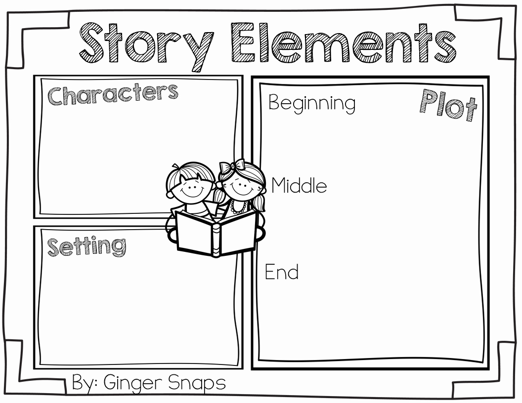 50 Elements Of Fiction Worksheet