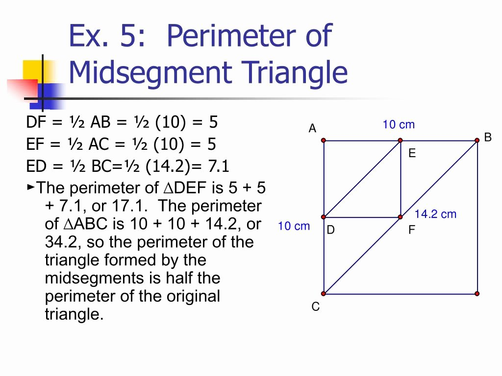 50 Midsegment Theorem Worksheet Answer Key