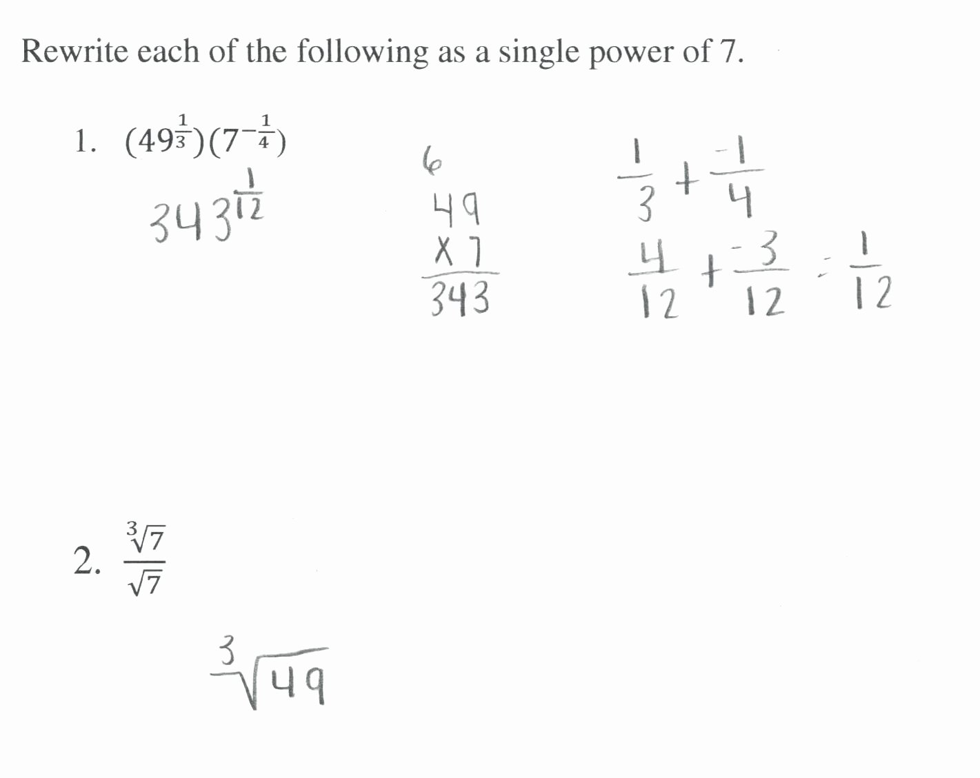 50 Radical And Rational Exponents Worksheet
