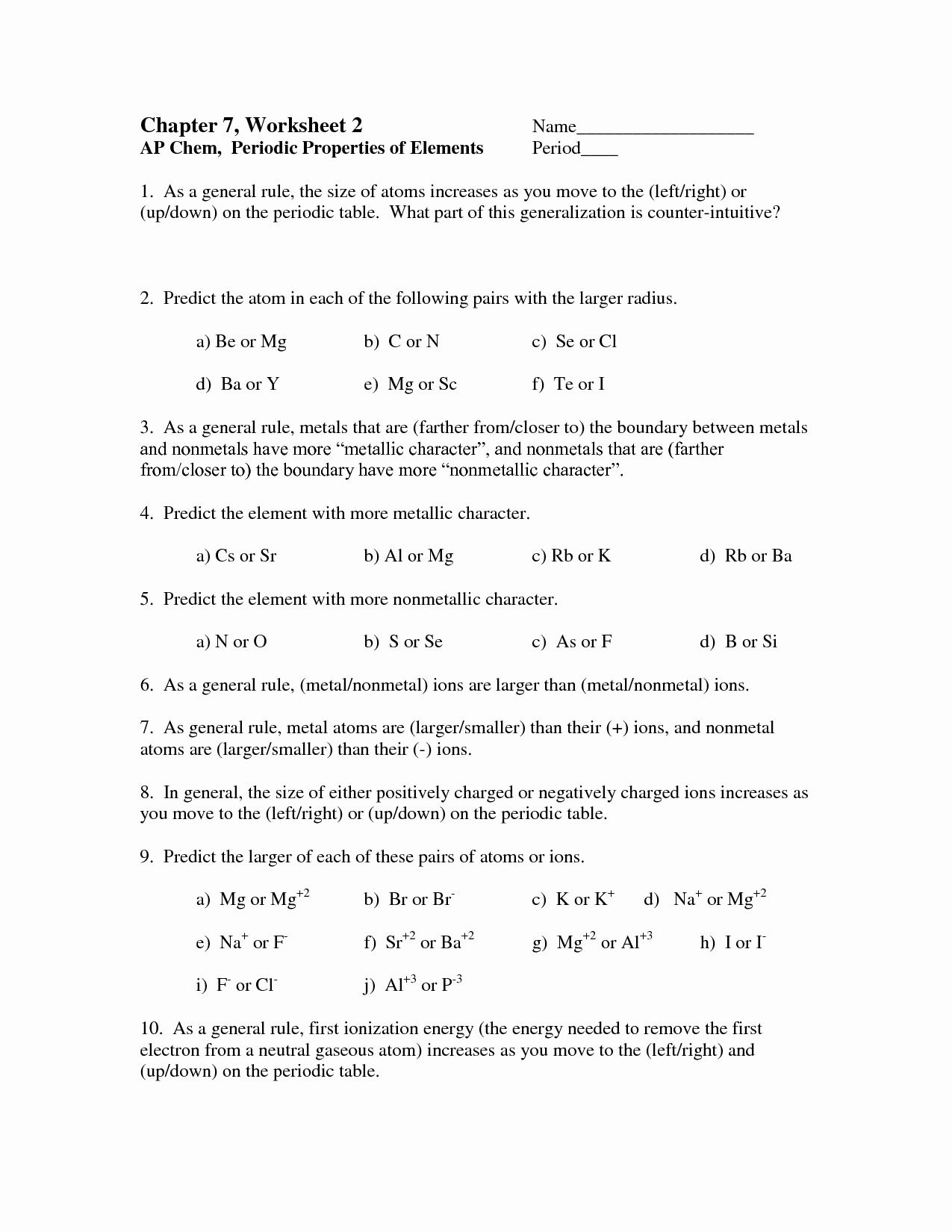 50 Science Skills Worksheet Answer Key