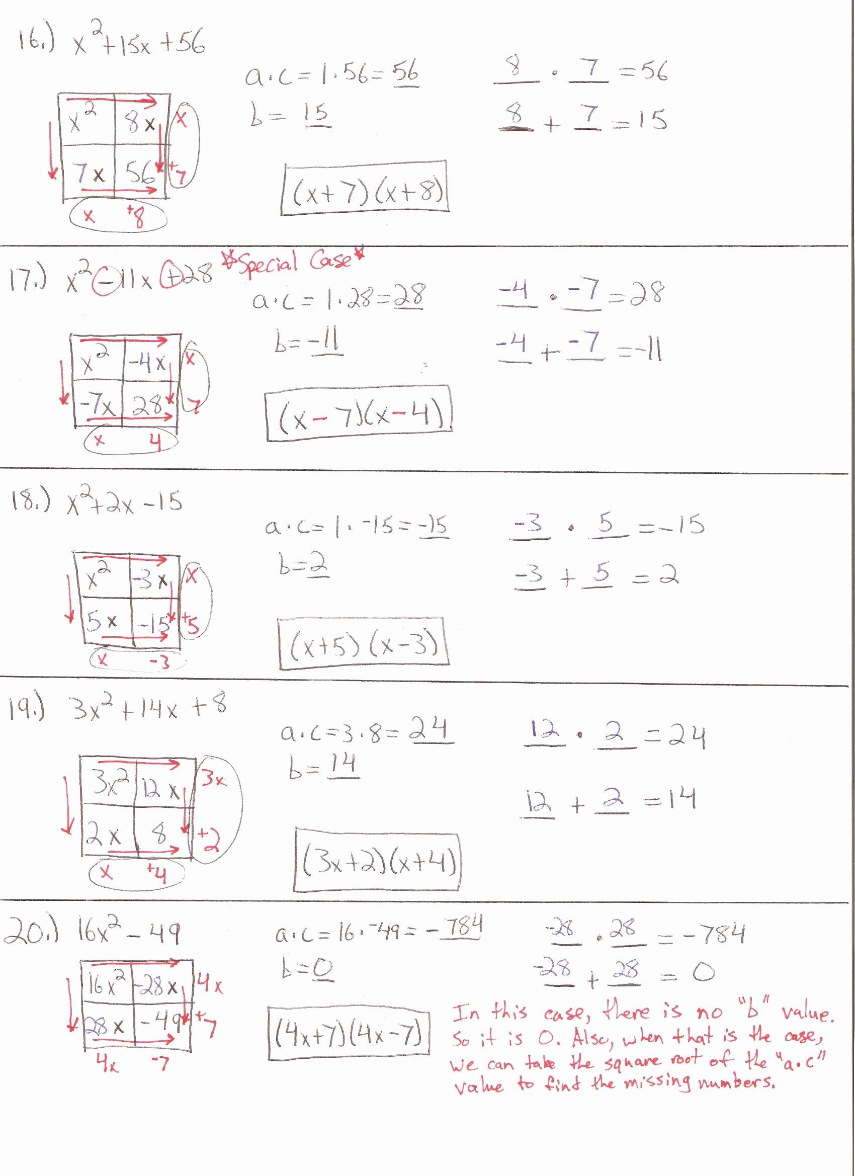 47 Solving Quadratic Equations Worksheet