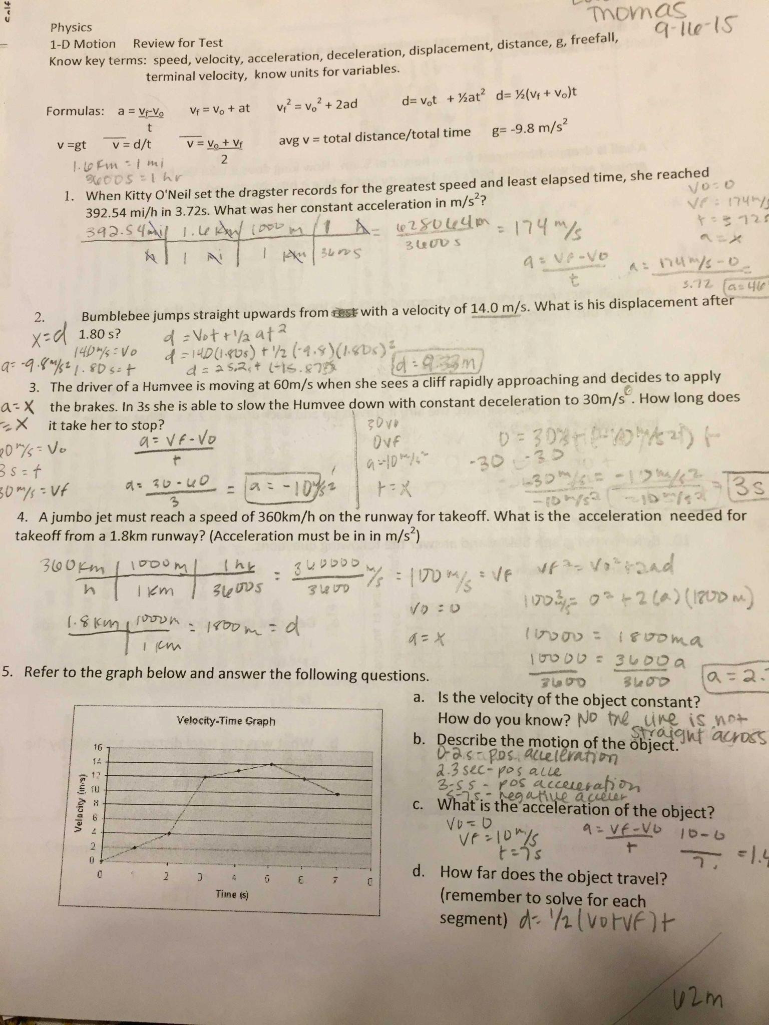 50 Speed Practice Problems Worksheet