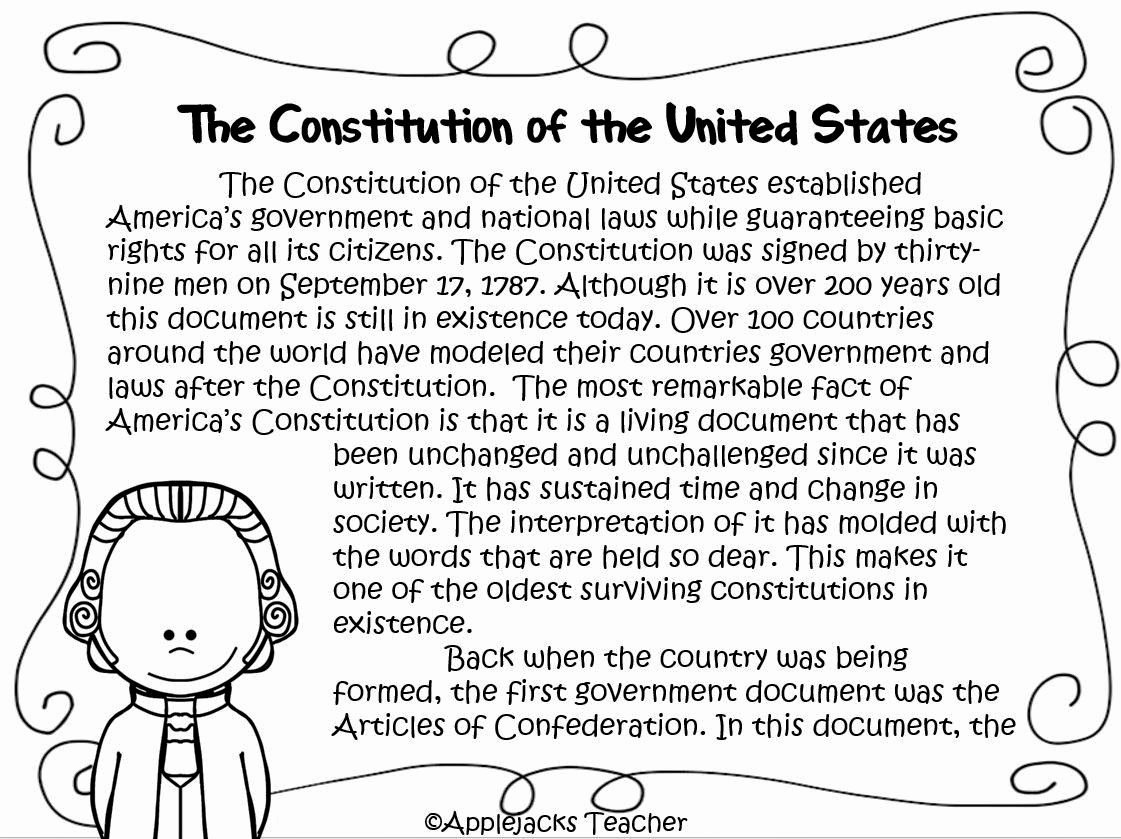 50 The Us Constitution Worksheet