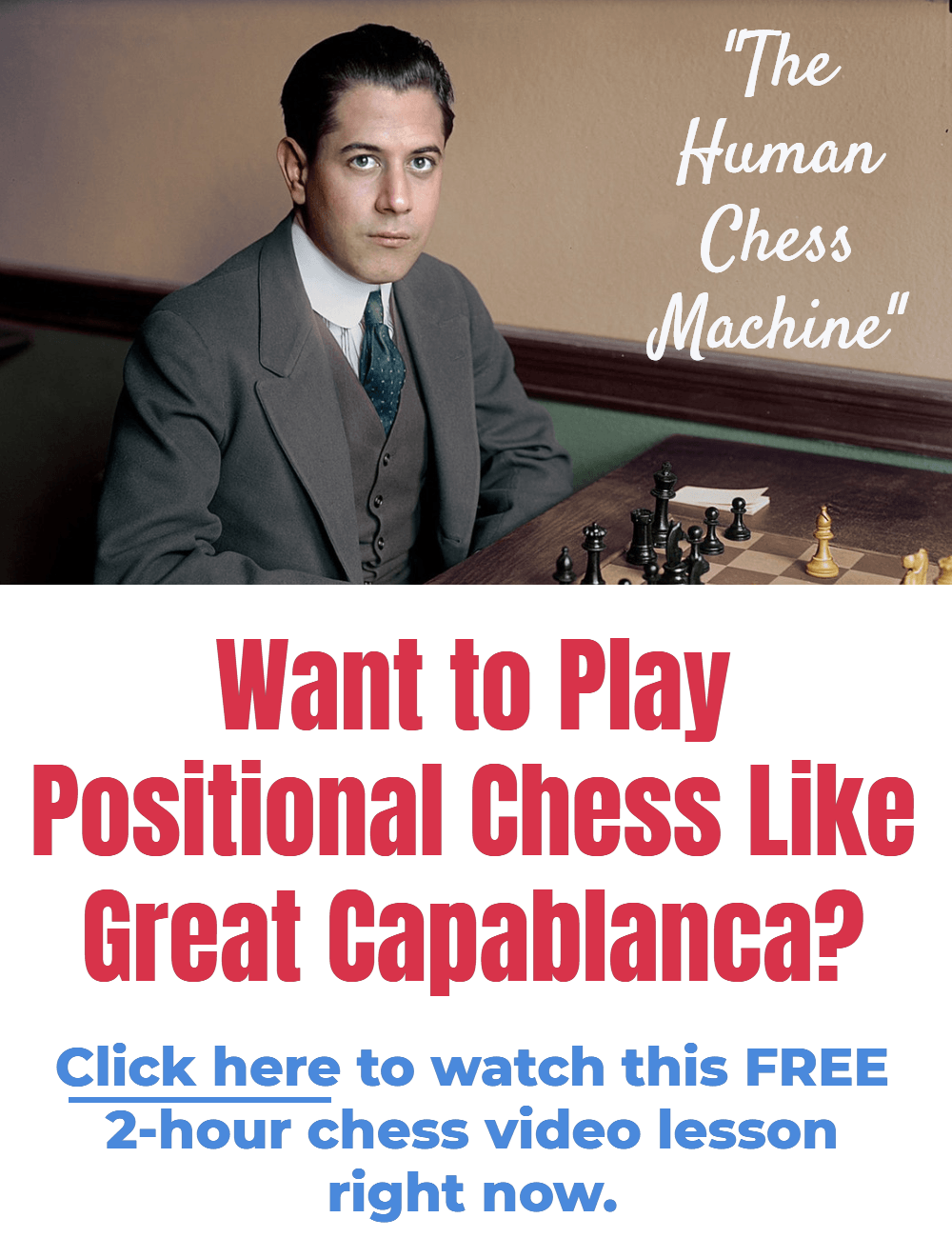 positional chess like capablanca