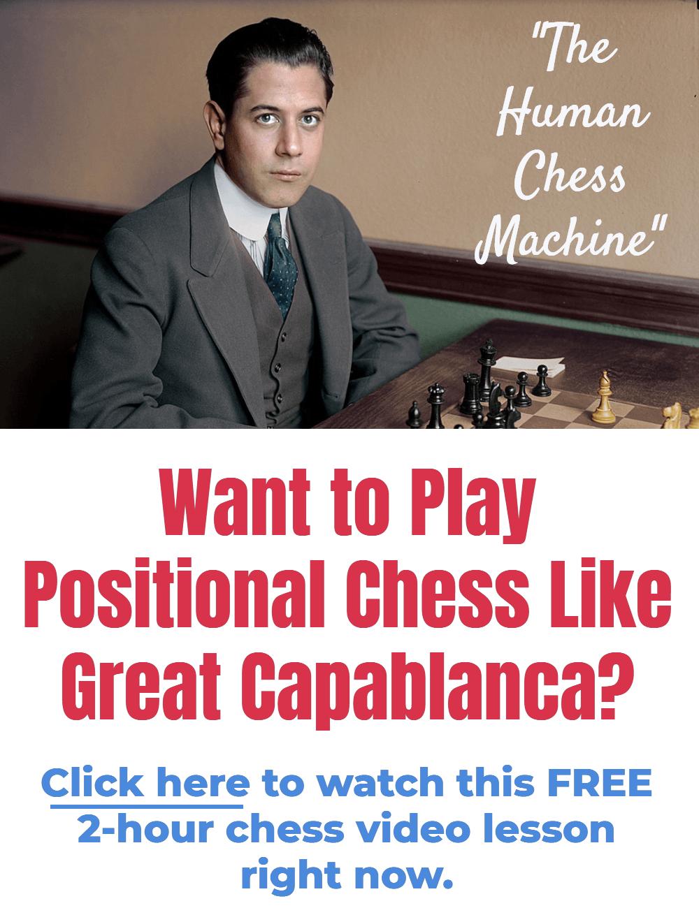 positional chess like capablanca