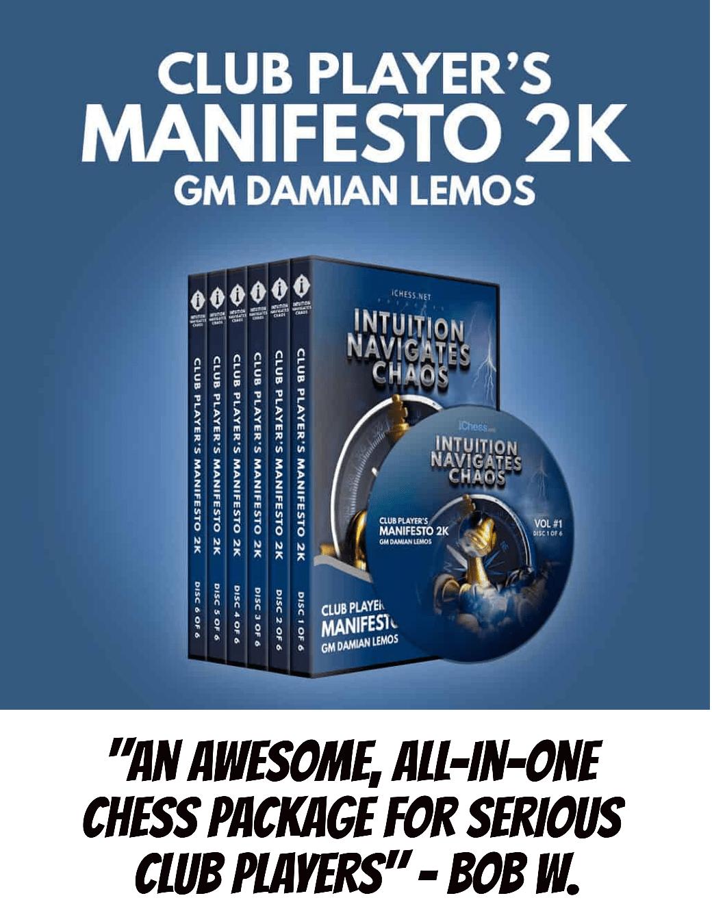 club chess players manifesto