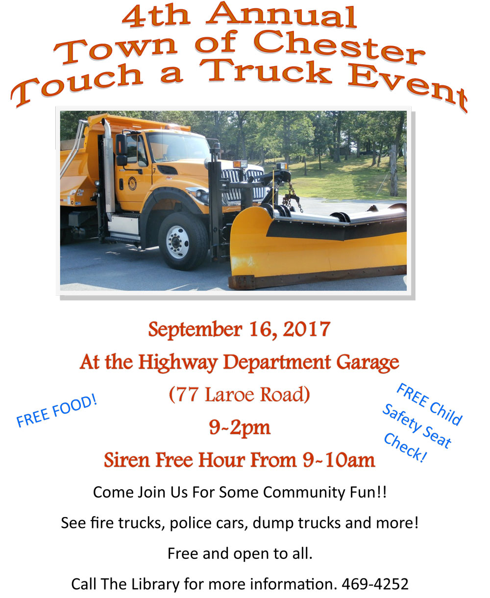 Touch A Truck 2017