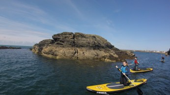SUP ANGELESEY STAND UP PADDLE BOARD LESSONS TRIPS TREARDDUR SAILING CLUB MARINA