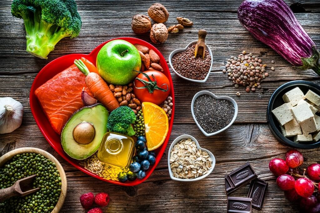 Basic principles of a diet to lower blood cholesterol levels