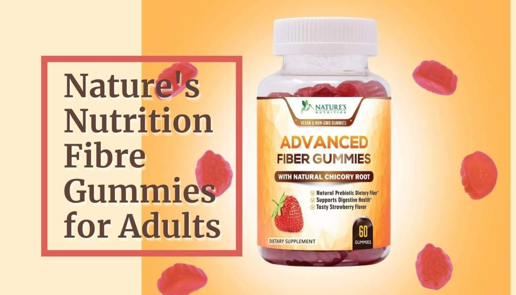 Nature's Nutrition Fibre Gummies for Adults ( Product value $15.92 )