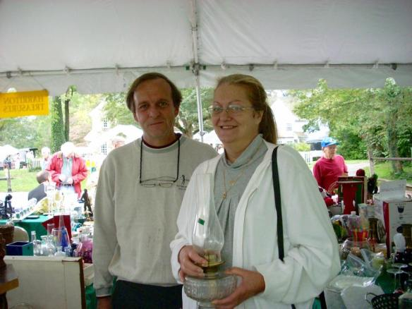 Tom and Diane - photo taken at Harriton Fair 2008.