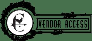 Consignment Vendor Account Access Button