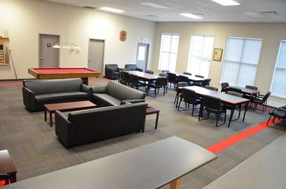 Affordable Senior Housing Interior Common Room