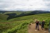Up to Derwent Edge
