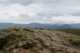Win Fell Crag overlooking Edale