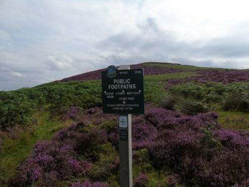 We're in Peak & Northern Footpath land