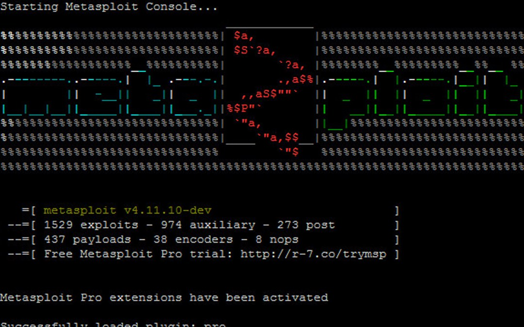 2018-2019 Member Session 4: Intro to Metasploit