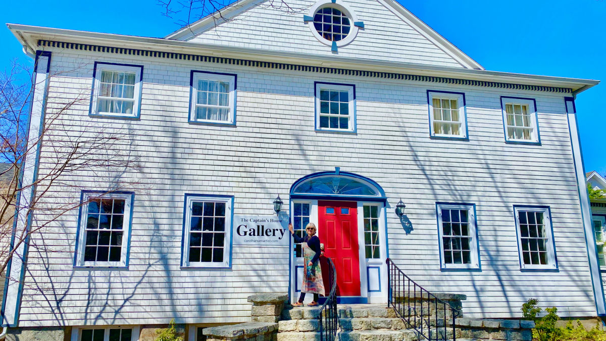 The Captain's House Gallery with Carol Hansen
