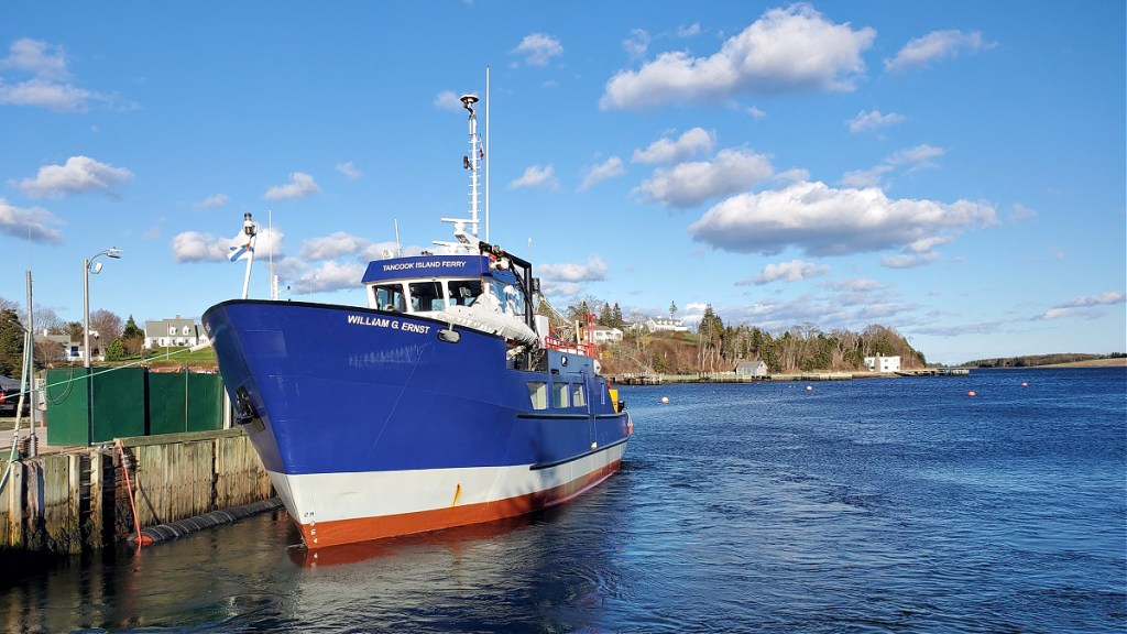 Tancook Ferry from Chester Nova Scotia