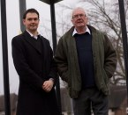 Newton Cllr's Tom Parry and Adrian Walmsley promise to continue discussions about speed limits ©CWAC Conservatives