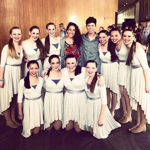 CVDA alum Emily O'Connor with our dancers