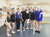 Dancers with Shea New at Palm Springs Dance Festival