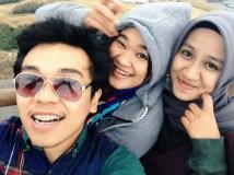 With Naimah and Siti