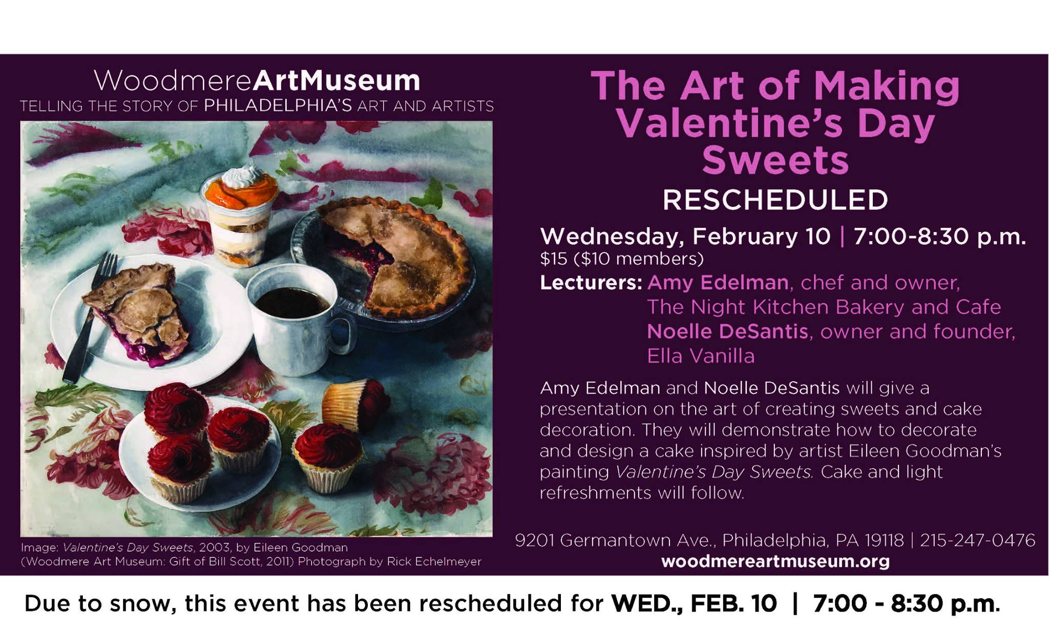 The Art Of Making Valentines Day Sweets At Woodmere Art