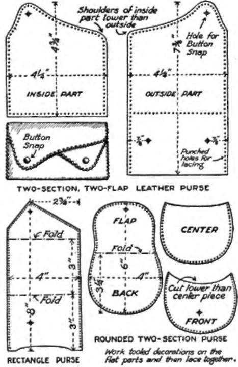 Printable Leather Tooling Patterns Simple