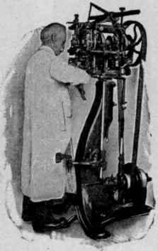 Consolidated Hand Method Welt Lasting Machine