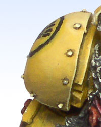 How to paint Captain Lysander in terminator armour