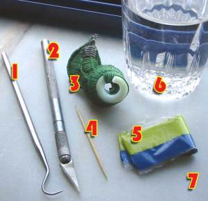 Photo: How to sculpt alien skin - tutorial