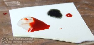 Photo: Painting blood - Tutorial