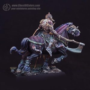 Photo: How to paint Chaos steeds or drune steeds - Tutorial