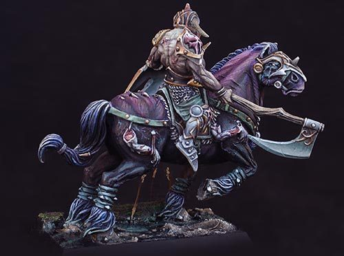 How to paint Chaos steeds or Drune steeds - Tutorial
